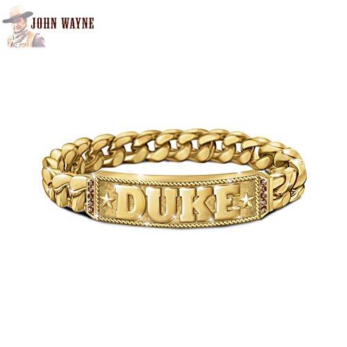 'Duke' Bourbon Quartz Men's Bracelet