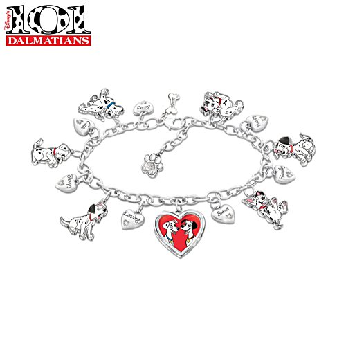 Disney 101 Dalmatians Ladies' Charm Bracelet