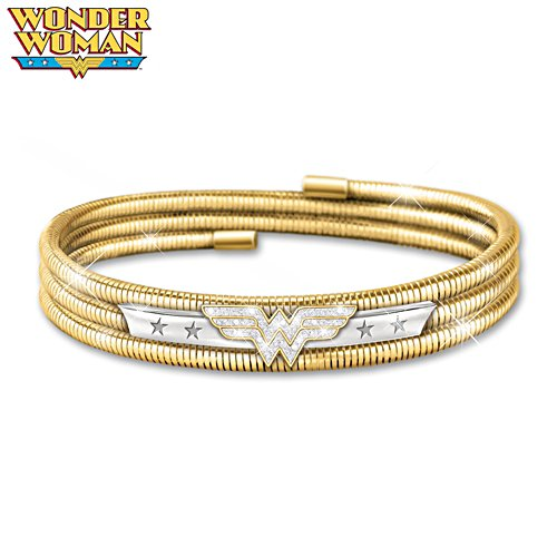"""Lasso Of Truth"" Wonder Woman DC Comics Women's Bracelet"
