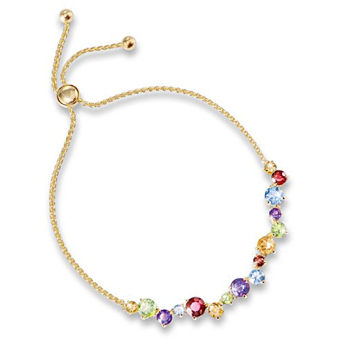 'Colours Of Beauty' Gemstone Bracelet