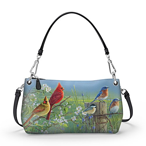 "James Hautman ""Spring Serenade"" Handbag Can Be Worn 3 Ways"