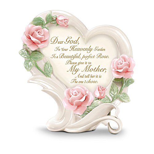 'Roses In Heaven' Mother Heirloom Porcelain® Sculpture