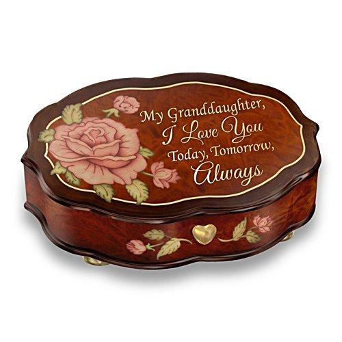'Love You Always' Granddaughter Music Box