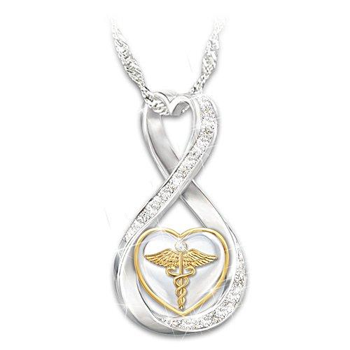 'Work Of Heart' Healthcarer Swarovski® Crystal Ladies' Pendant
