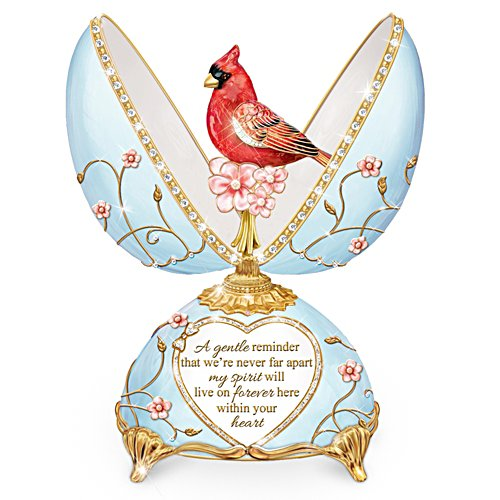 """Heavenly Messenger"" Peter Carl Faberge-Style Musical Egg"