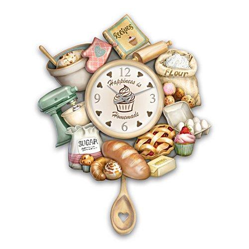 'Homemade Happiness' Baking Wall Clock
