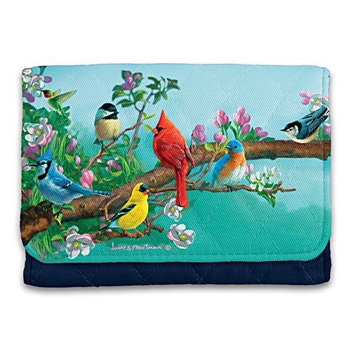 James Hautman Songbird RFID Blocking Tri-Fold Wallet