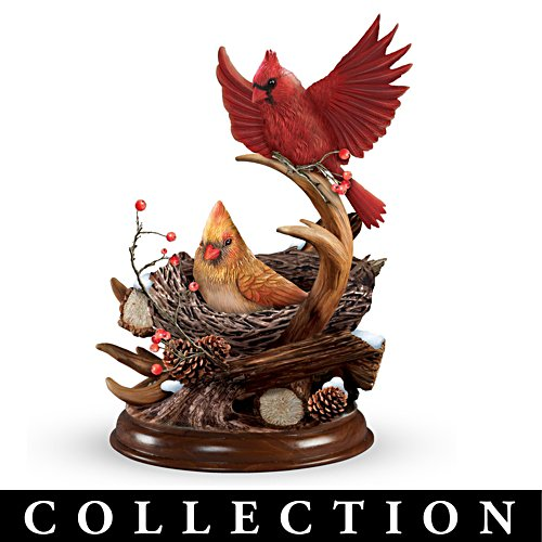 Thomas Kinkade Nature's Masterpieces Sculpted Songbird Collection