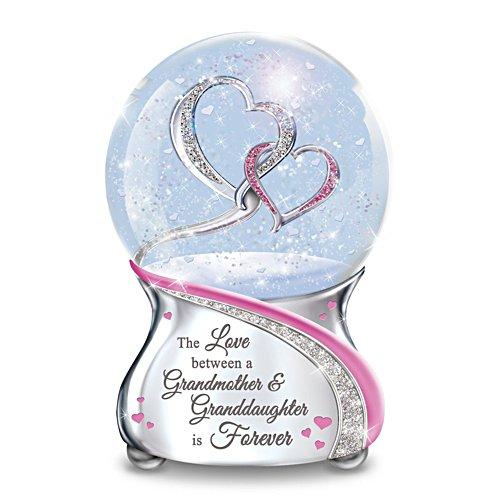 'Love Between A Grandmother & Granddaughter' Glitter Globe