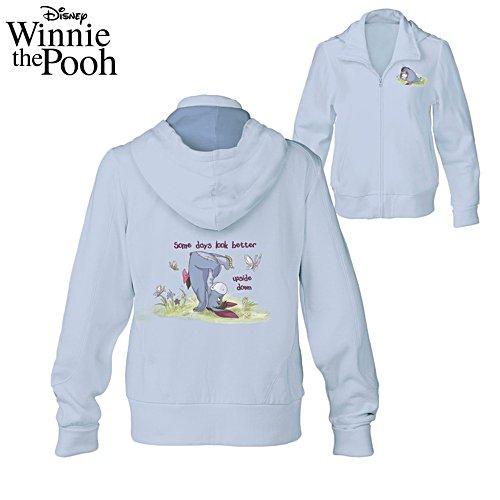 Disney Winnie The Pooh Full-Zip Hoodie With Eeyore Artwork
