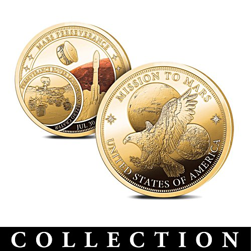 The 'Mission To Mars' Proof Commemorative Collection