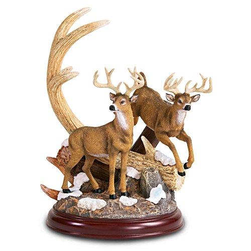Treffen der Könige – Hirsch-Skulptur