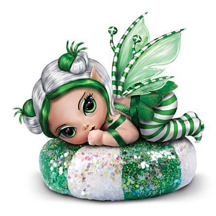 Jasmine Becket-Griffith Spearmint Sprite Figurine