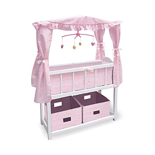 Wood Crib For 55 cm Dolls