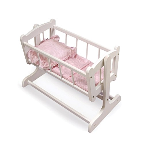 Rocking Doll Cradle For 56cm Dolls