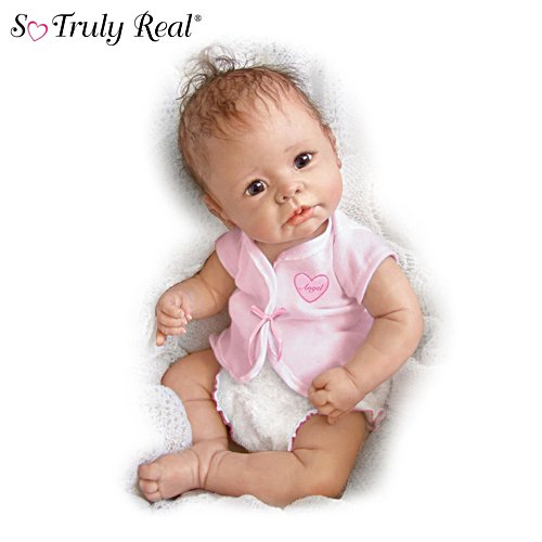 Linda Murray Lifelike Baby Girl Doll: Little Angel
