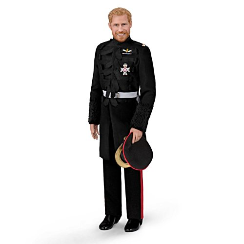 The Prince Harry Porcelain Groom Doll