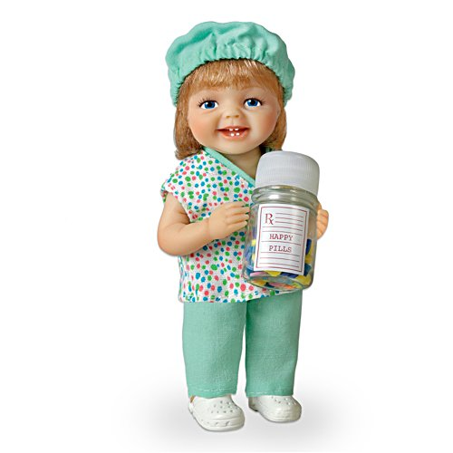 """Be Nice, I'm In Charge"" Lifelike Baby Doll Honours Nurses"