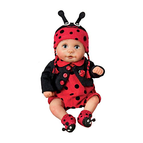 She's Cute As A Bug Miniature Realistic Baby Doll