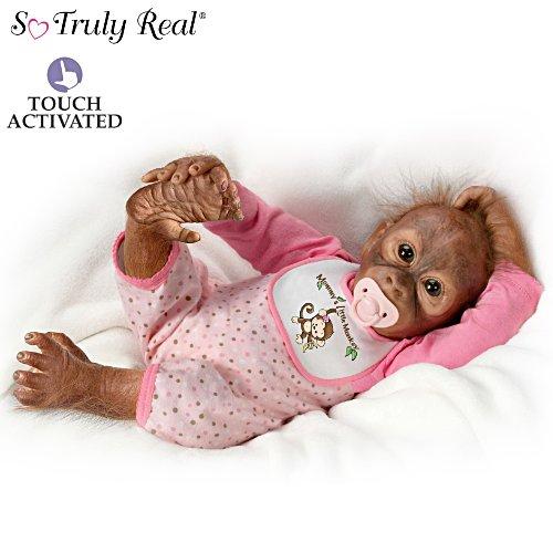 Leilas liebevolle Berührung – Babypuppe