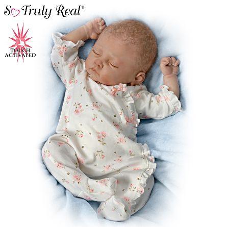 Realistic Baby Dolls Linda Murray Sophia Lifelike Baby Doll The