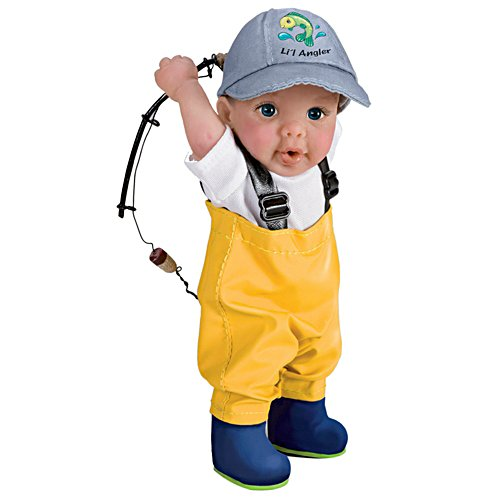 Hooked on Fishing Toddler Doll