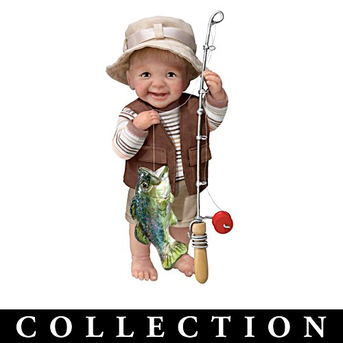 Fisherman 'Reel Cute' Toddler Boy Dolls