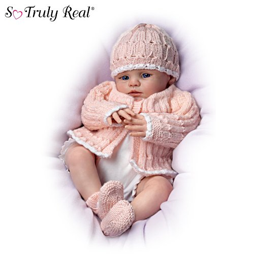 "Marissa May ""Abby Rose"" Lifelike Newborn Baby Doll"