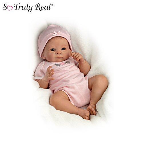 Mein kleines Stupsnäschen – Lebensechte Baby Puppe