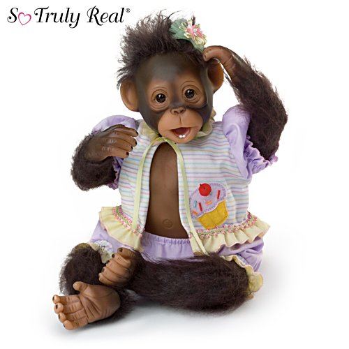 Cindy Sales ''Cute as a Cupcake'' Monkey Doll