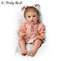 Cheryl Hill 'Little Hunny Bunny' Poseable Baby Doll