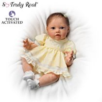 Touch-Activated Baby Doll By Artist Jannie DeLange