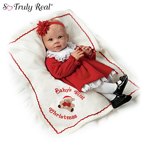 Baby's erstes Weihnachtsfest