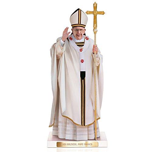 Papst Franziskus – handgefertigte Porträt-Skulptur