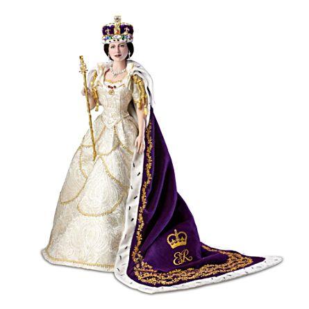 """Queen Elizabeth II Coronation"" Doll"