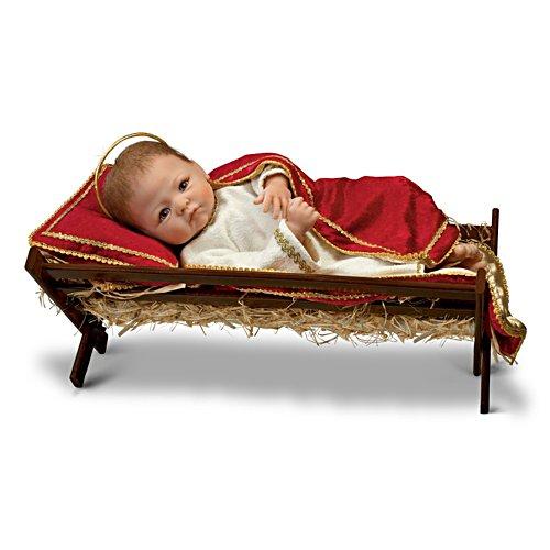 Linda Murray 'Jesus, The Saviour Is Born' Baby Doll