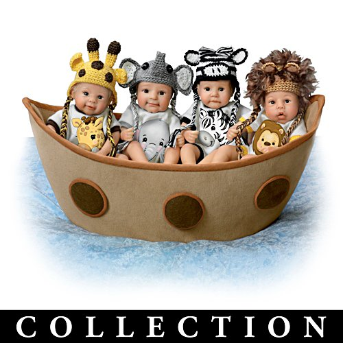 Noah's Ark Miniature Baby Doll Collection