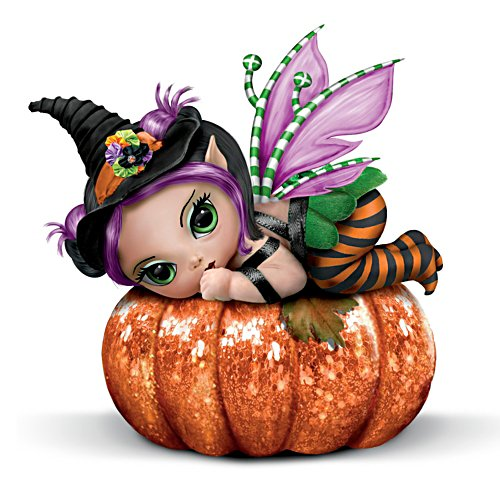 "Jasmine Becket-Griffith ""Pun'kin Pixie"" Baby Figurine"