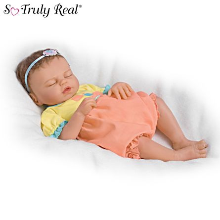 Violet Parker Quot Baby Of Mine Quot Lifelike Baby Girl Doll