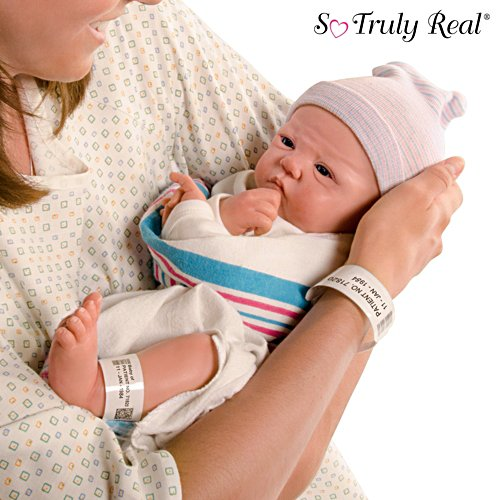 "Sandy Faber ""Welcome To The World"" Lifelike Newborn Baby Doll"
