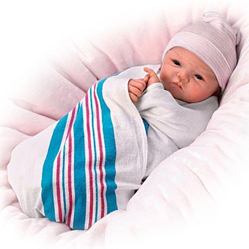 Willkommen auf der Welt – Reborn-Babypuppe
