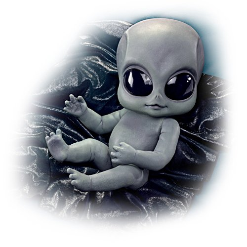Roswell-Baby – Alien-Puppe