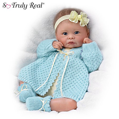 "Linda Murray ""Sweetly Snuggled Sarah"" Lifelike Baby Doll"