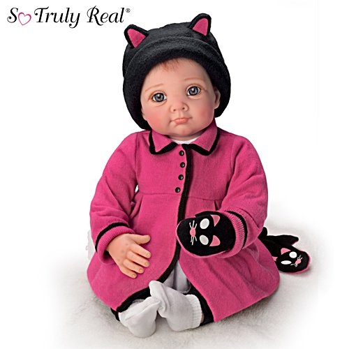 "Elly Knoops ""Little Kitten Lost Her Mitten"" Baby Doll"