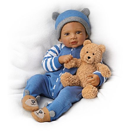 Calvin und sein Teddybär