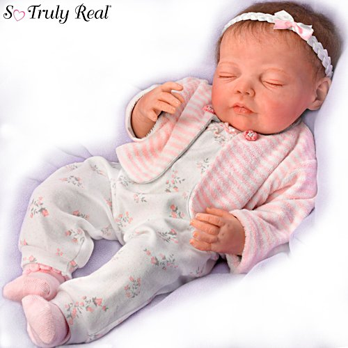 "Jannie DeLange ""Dream Big, Little One"" Lifelike Baby Doll"