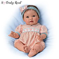 "Ping Lau ""Littlest Sweetheart"" Lifelike Baby Doll"