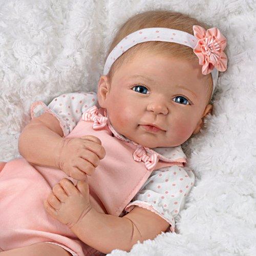 Amata Amelia – Baby doll in silicone Rinato