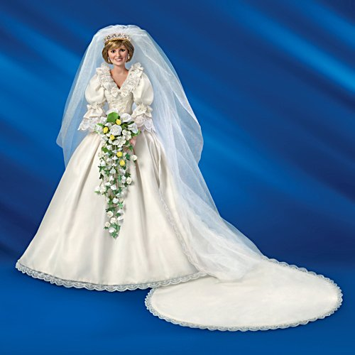 """Princess Diana"" 35th Anniversary Bride Doll"