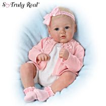 "Marissa May ""Perfect In Pink Annika"" Lifelike Baby Doll"